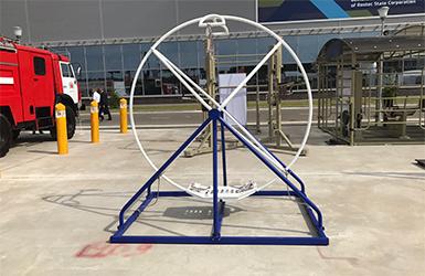 Стационарное гимнастическое колесо